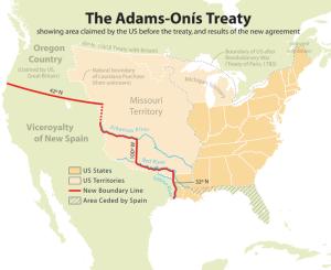 The Adams-Onís Treaty
